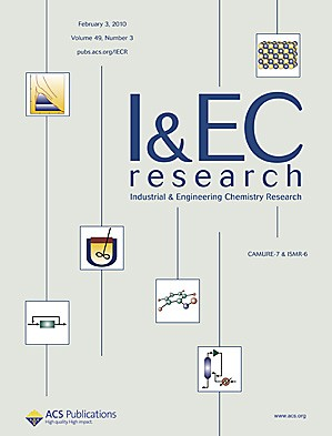 Industrial & Engineering Chemistry Research: Volume 49, Issue 3