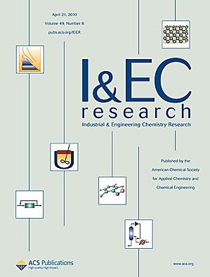 Industrial & Engineering Chemistry Research: Volume 49, Issue 8