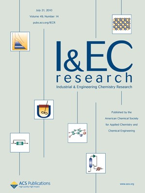 Industrial & Engineering Chemistry Research: Volume 49, Issue 14