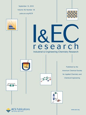 Industrial & Engineering Chemistry Research: Volume 49, Issue 18