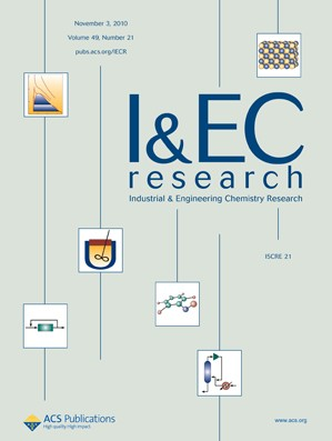 Industrial & Engineering Chemistry Research: Volume 49, Issue 21