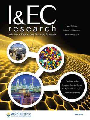 Industrial & Engineering Chemistry Research: Volume 53, Issue 20