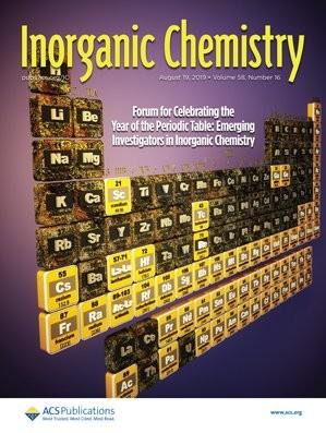Inorganic Chemistry: Volume 58, Issue 16