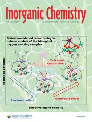 Inorganic Chemistry: Volume 58, Issue 22