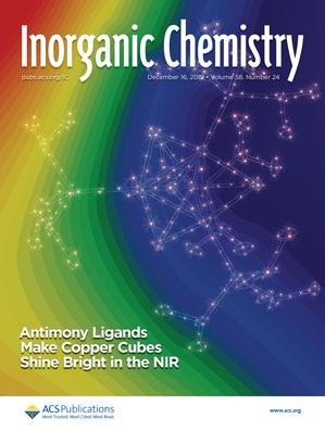 Inorganic Chemistry: Volume 58, Issue 24