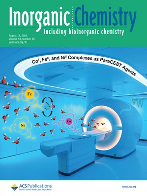 Inorganic Chemistry: Volume 53, Issue 16