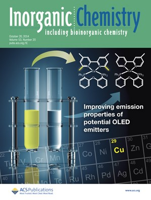 Inorganic Chemistry: Volume 53, Issue 20