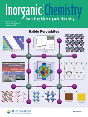 Inorganic Chemistry: Volume 56, Issue 1