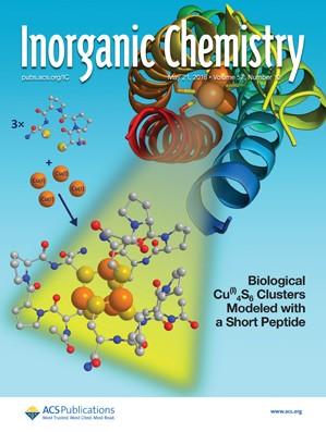 Inorganic Chemistry: Volume 57, Issue 10