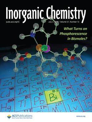 Inorganic Chemistry: Volume 57, Issue 13