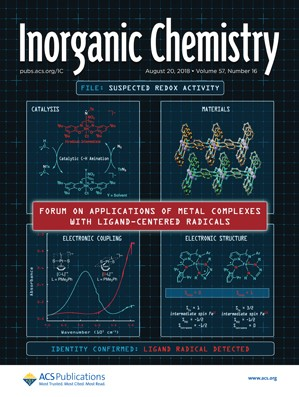 Inorganic Chemistry: Volume 57, Issue 16