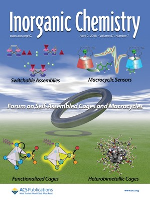 Inorganic Chemistry: Volume 57, Issue 7