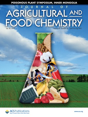 Journal of Agricultural and Food Chemistry: Volume 62, Issue 30