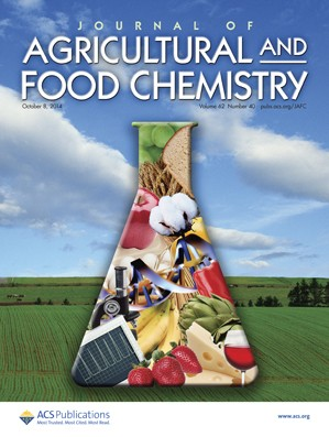 Journal of Agricultural and Food Chemistry: Volume 62, Issue 40