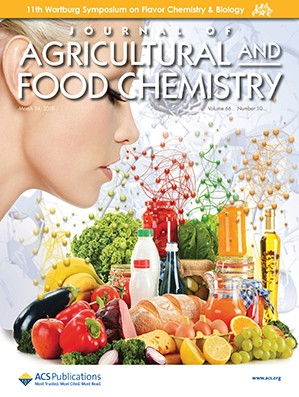 Journal of Agricultural and Food Chemistry: Volume 66, Issue 10