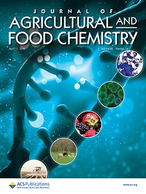 Journal of Agricultural and Food Chemistry: Volume 66, Issue 14