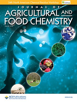 Journal of Agricultural and Food Chemistry: Volume 66, Issue 20