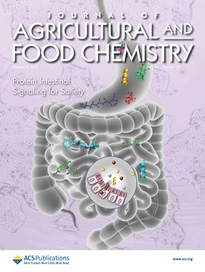 Journal of Agricultural and Food Chemistry: Volume 66, Issue 39