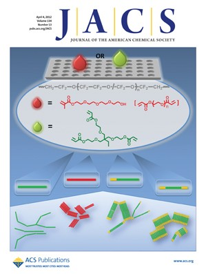 Journal of the American Chemical Society: Volume 134, Issue 13