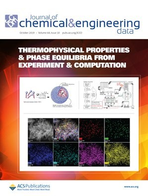 Journal of Chemical & Engineering Data: Volume 64, Issue 10