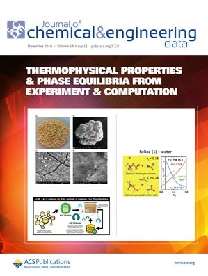 Journal of Chemical & Engineering Data: Volume 64, Issue 11