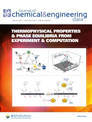 Journal of Chemical & Engineering Data: Volume 64, Issue 2