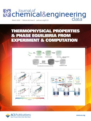 Journal of Chemical & Engineering Data: Volume 64, Issue 3