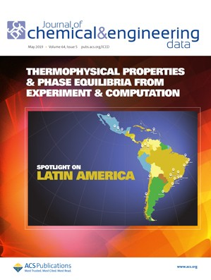 Journal of Chemical & Engineering Data: Volume 64, Issue 5