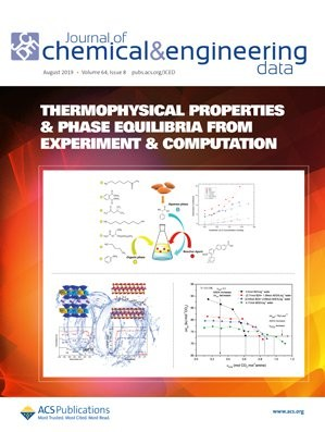 Journal of Chemical & Engineering Data: Volume 64, Issue 8