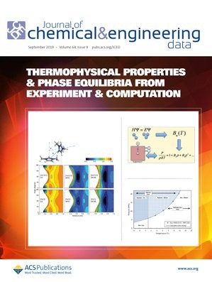 Journal of Chemical & Engineering Data: Volume 64, Issue 9