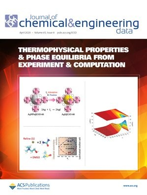 Journal of Chemical & Engineering Data: Volume 65, Issue 4