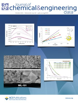 Journal of Chemical & Engineering Data: Volume 60, Issue 10
