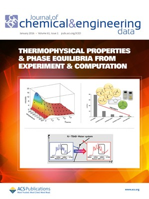 Journal of Chemical & Engineering Data: Volume 61, Issue 1