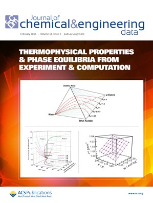 Journal of Chemical and Engineering Data: Volume 61, Issue 2