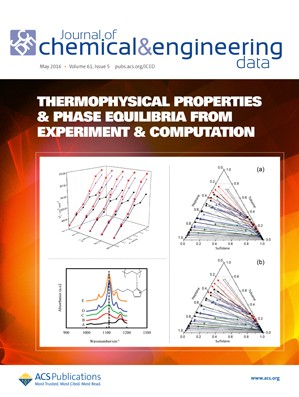Journal of Chemical and Engineering Data: Volume 61, Issue 5