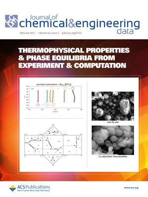 Journal of Chemical & Engineering Data: Volume 62, Issue 2