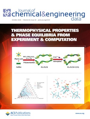 Journal of Chemical & Engineering Data: Volume 63, Issue 10