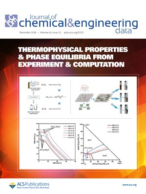 Journal of Chemical & Engineering Data: Volume 63, Issue 12