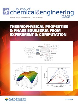 Journal of Chemical & Engineering Data: Volume 63, Issue 2