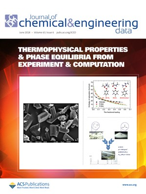 Journal of Chemical & Engineering Data: Volume 63, Issue 6