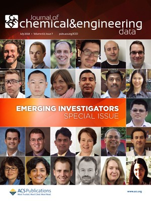 Journal of Chemical & Engineering Data: Volume 63, Issue 7