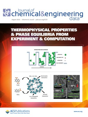 Journal of Chemical & Engineering Data: Volume 63, Issue 8