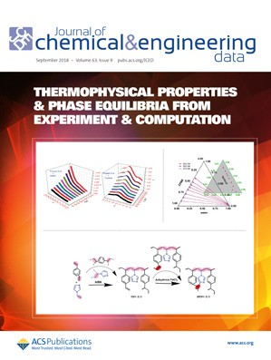 Journal of Chemical & Engineering Data: Volume 63, Issue 9