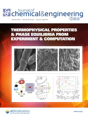 Journal of Chemical & Engineering Data: Volume 64, Issue 1