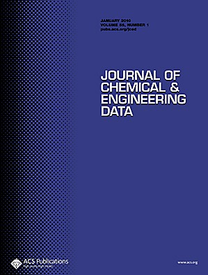 Journal of Chemical & Engineering Data: Volume 55, Issue 1