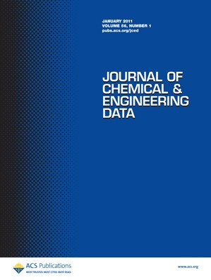 Journal of Chemical & Engineering Data: Volume 56, Issue 1