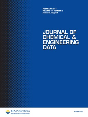 Journal of Chemical & Engineering Data: Volume 56, Issue 2