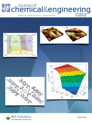 Journal of Chemical & Engineering Data: Volume 57, Issue 3
