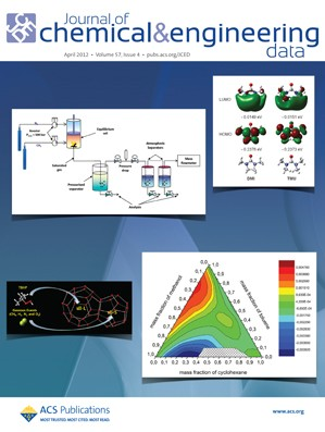 Journal of Chemical & Engineering Data: Volume 57, Issue 4