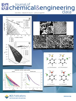 Journal of Chemical & Engineering Data: Volume 57, Issue 6